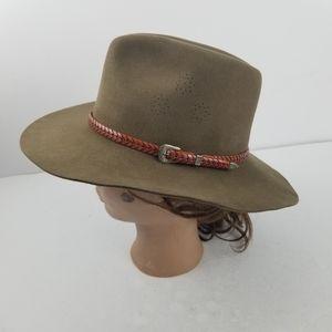 Willis & Geiger Fur Felt Safari Hat Rare Vintage